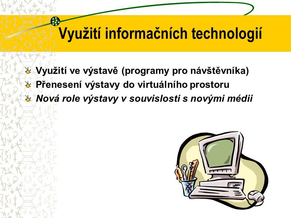 Využití informačních technologií