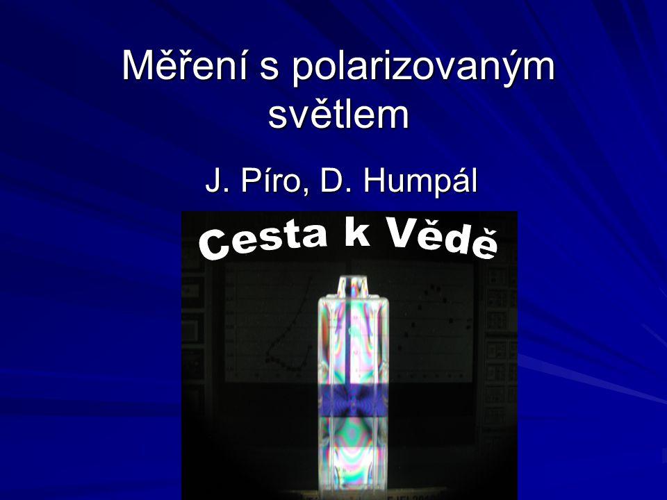 Měření s polarizovaným světlem