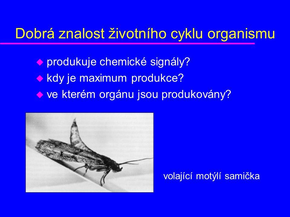 Dobrá znalost životního cyklu organismu