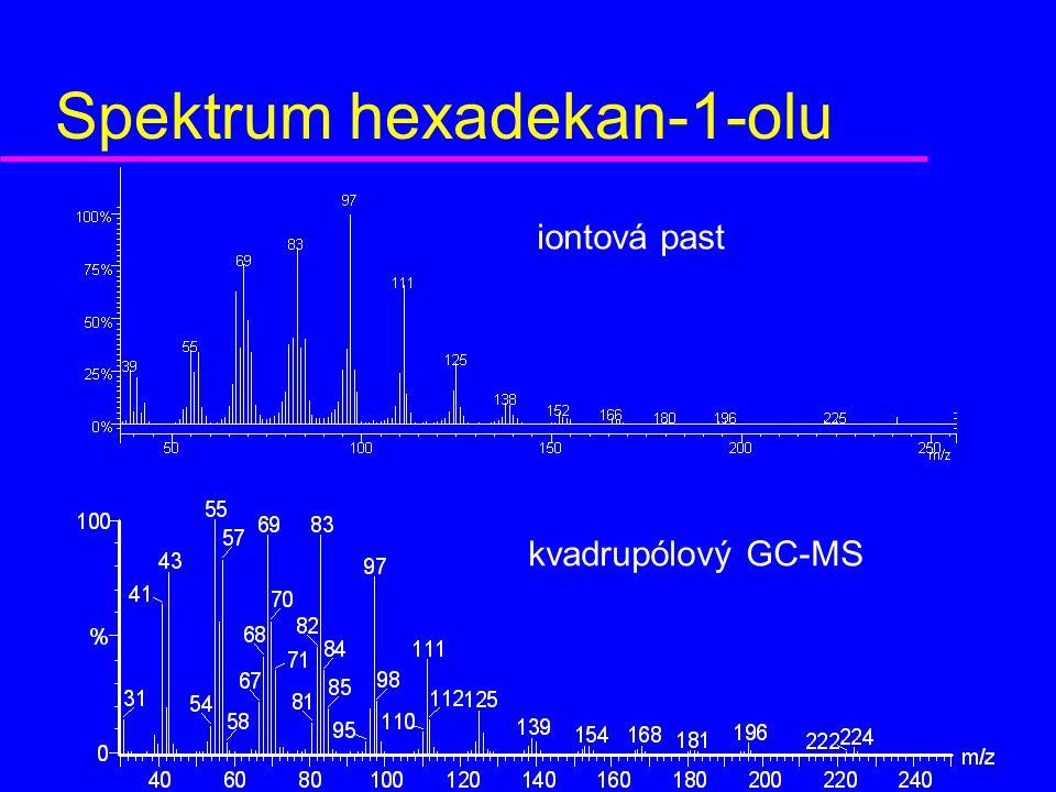 Spektrum hexadekan-1-olu