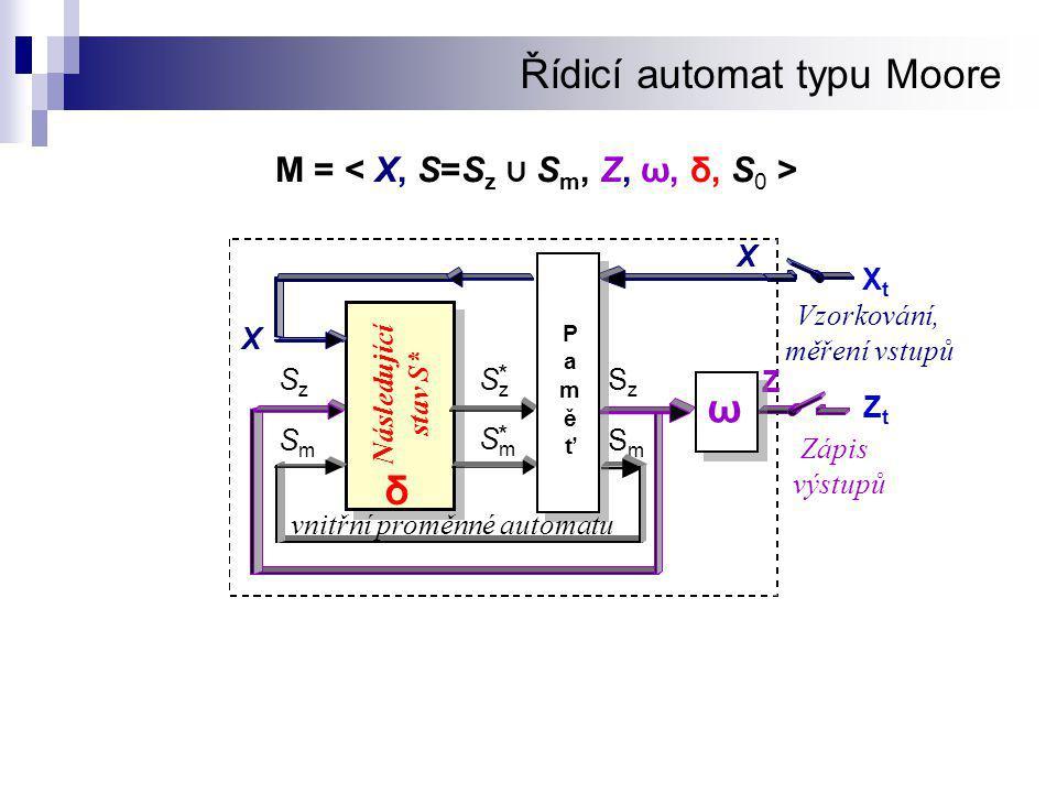 Řídicí automat typu Moore