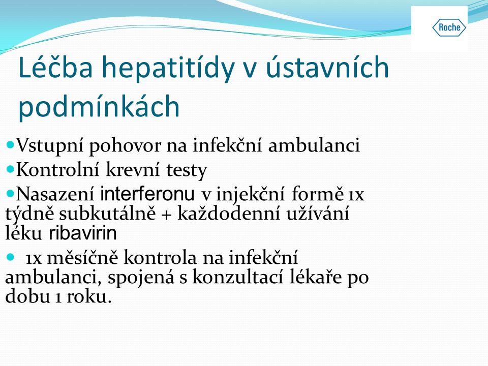 Léčba hepatitídy v ústavních podmínkách