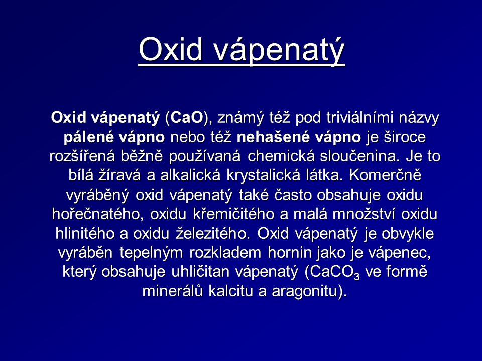 Oxid vápenatý