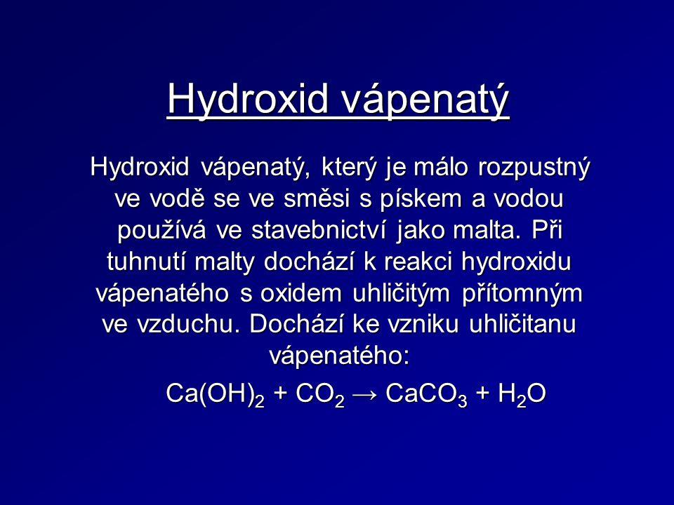 Hydroxid vápenatý