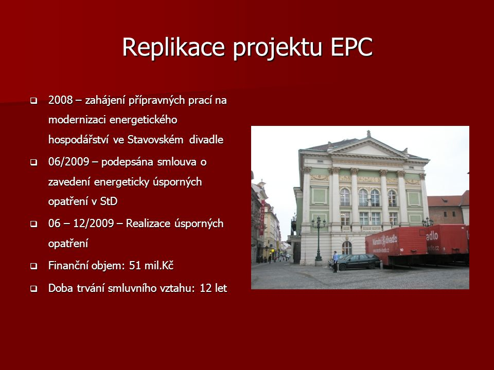 Replikace projektu EPC