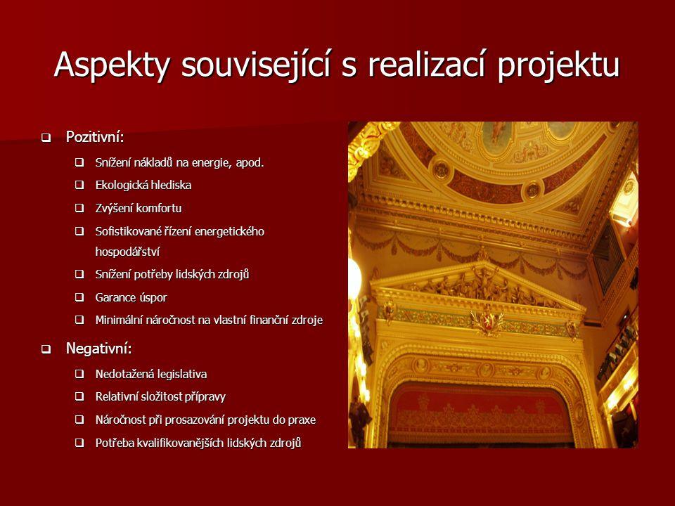Aspekty související s realizací projektu