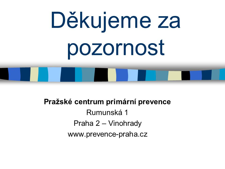 Pražské centrum primární prevence