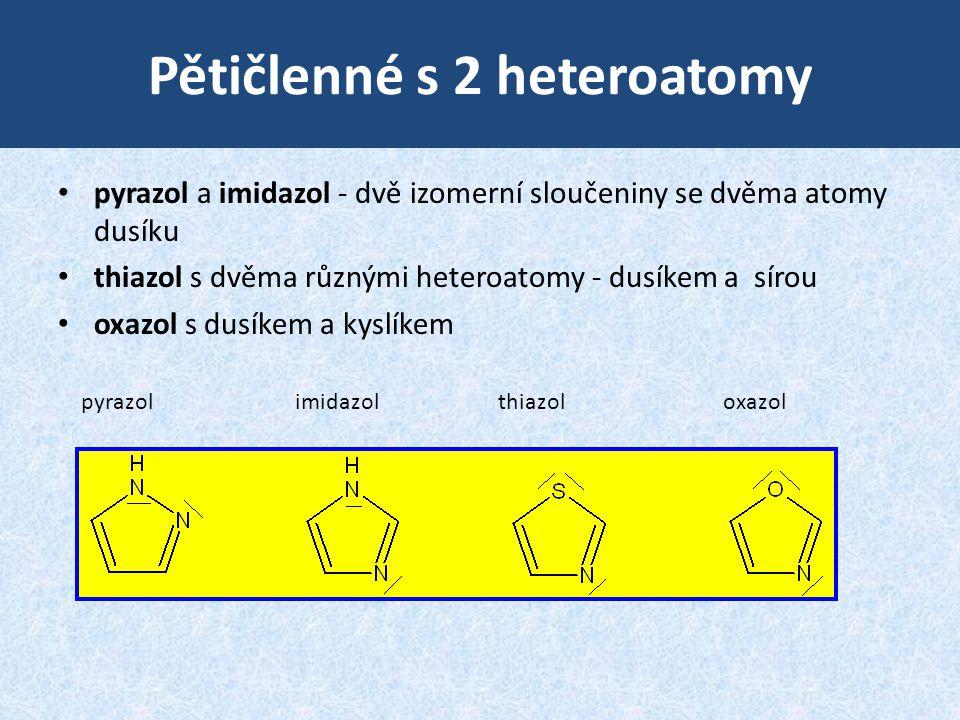Pětičlenné s 2 heteroatomy