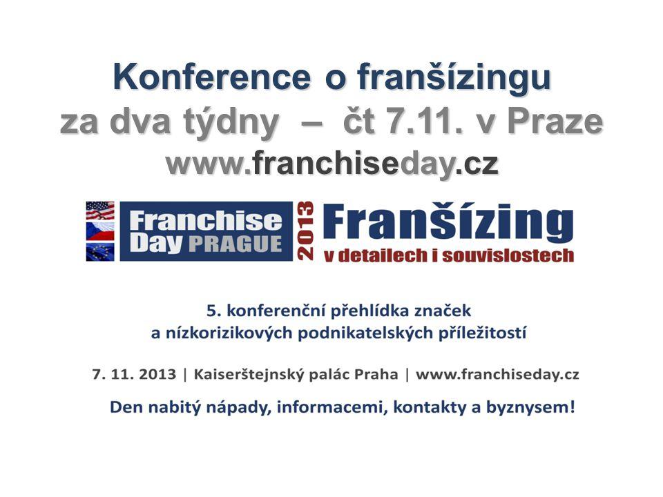 Konference o franšízingu