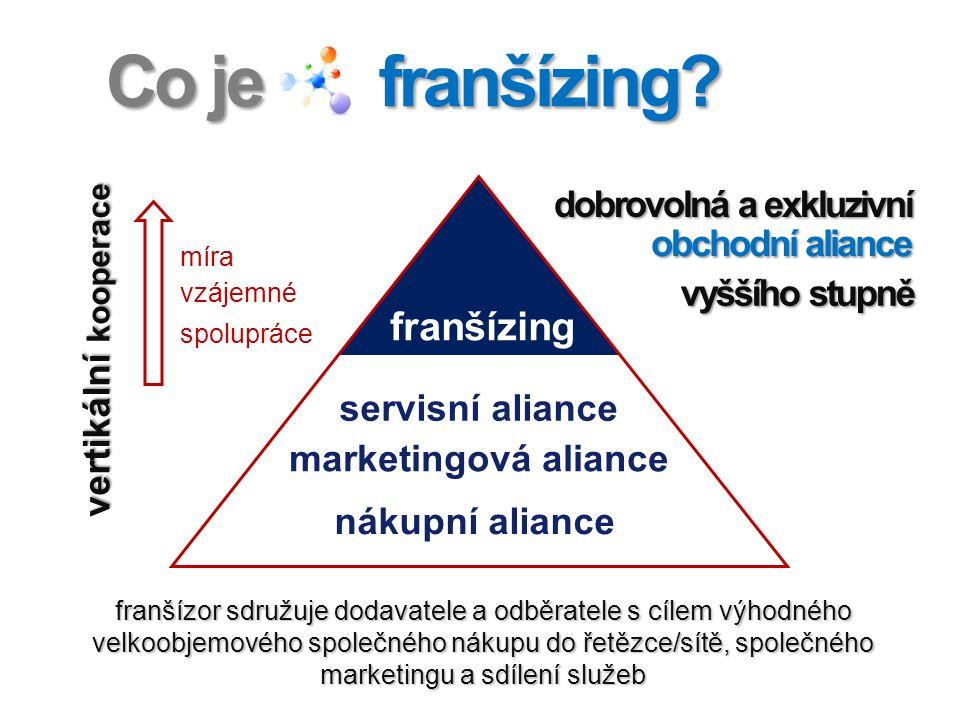Co je franšízing franšízing vertikální kooperace