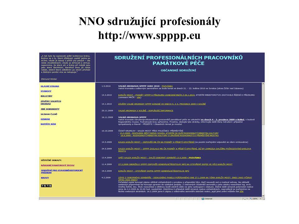 NNO sdružující profesionály http://www.spppp.eu