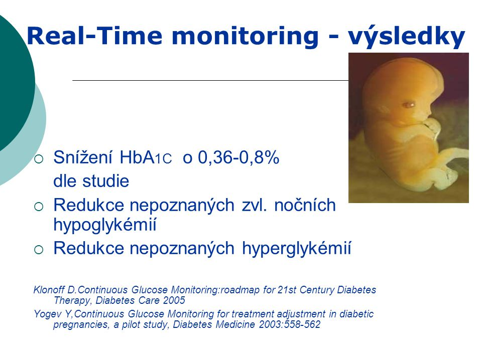 Real-Time monitoring - výsledky