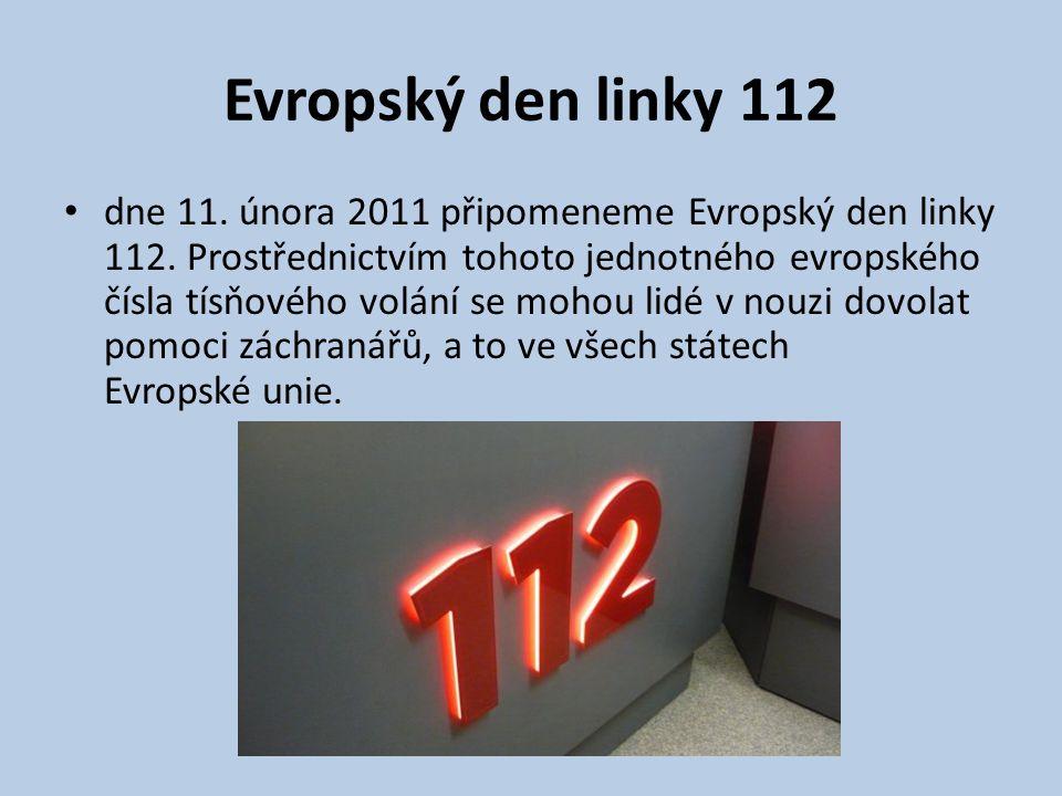 Evropský den linky 112