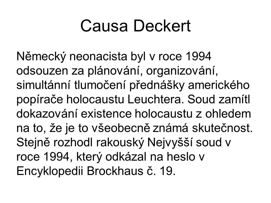 Causa Deckert