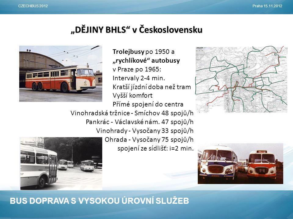 """""""DĚJINY BHLS v Československu"""