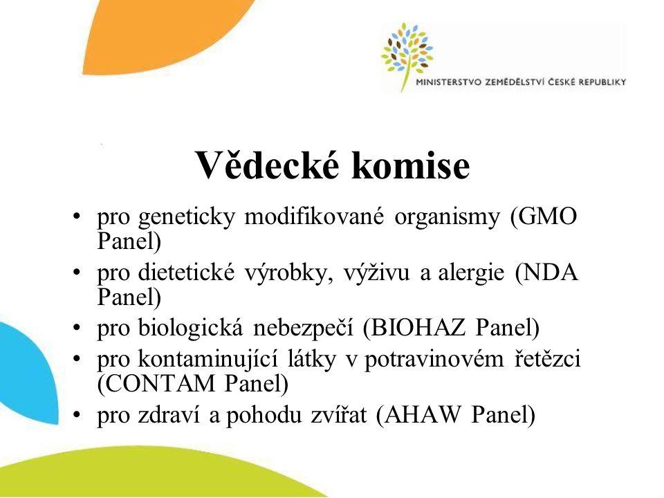 Vědecké komise pro geneticky modifikované organismy (GMO Panel)