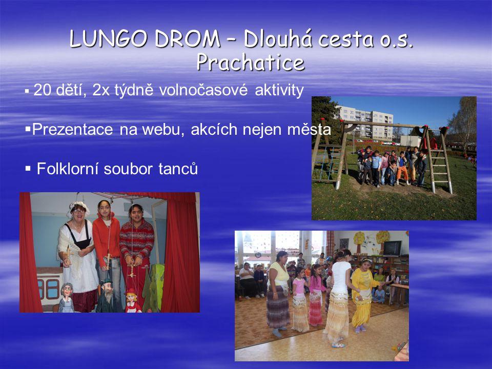 LUNGO DROM – Dlouhá cesta o.s. Prachatice