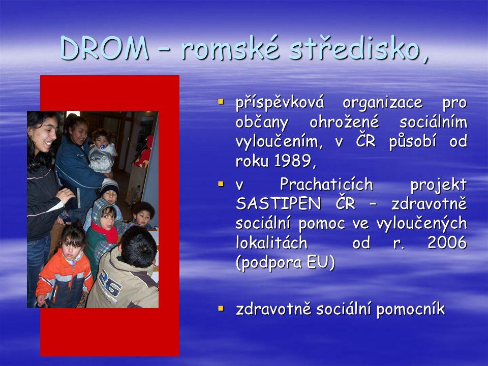 DROM – romské středisko,