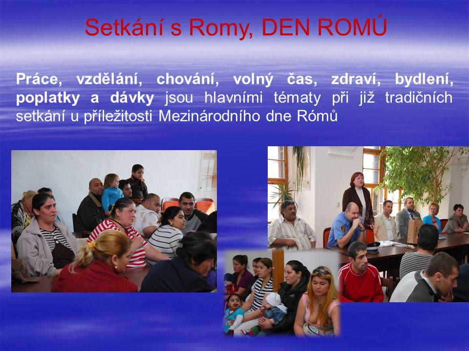 Setkání s Romy, DEN ROMÚ