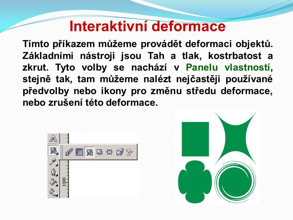 Interaktivní deformace