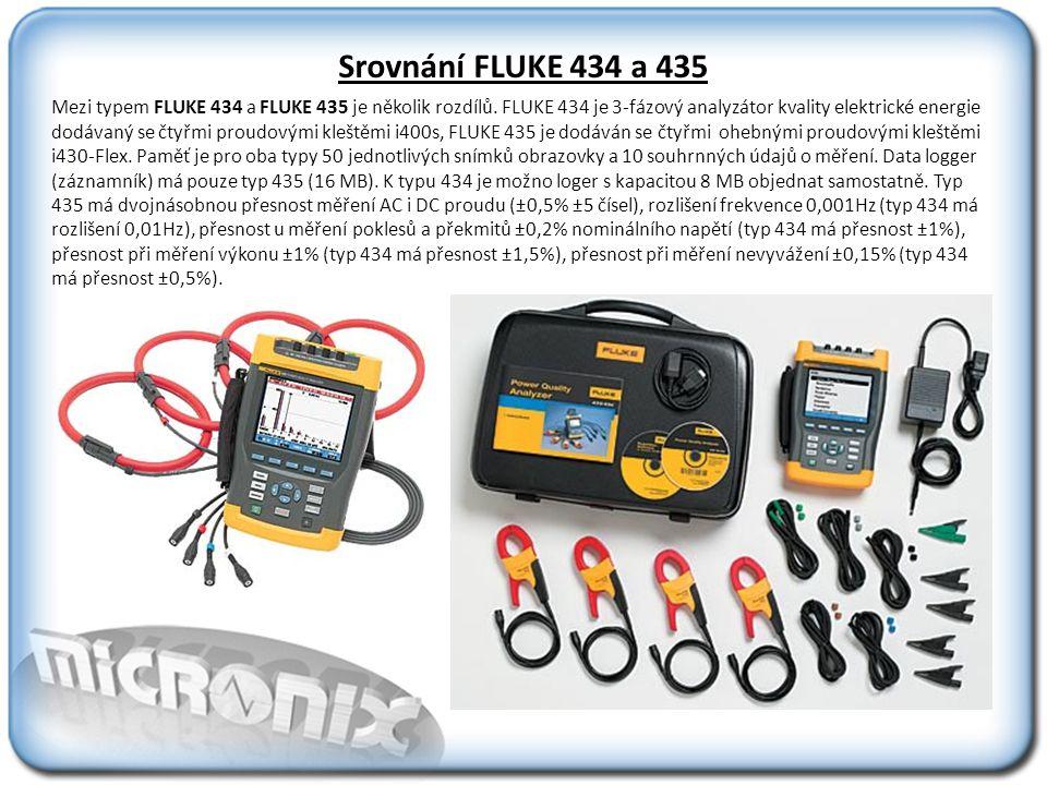 Srovnání FLUKE 434 a 435