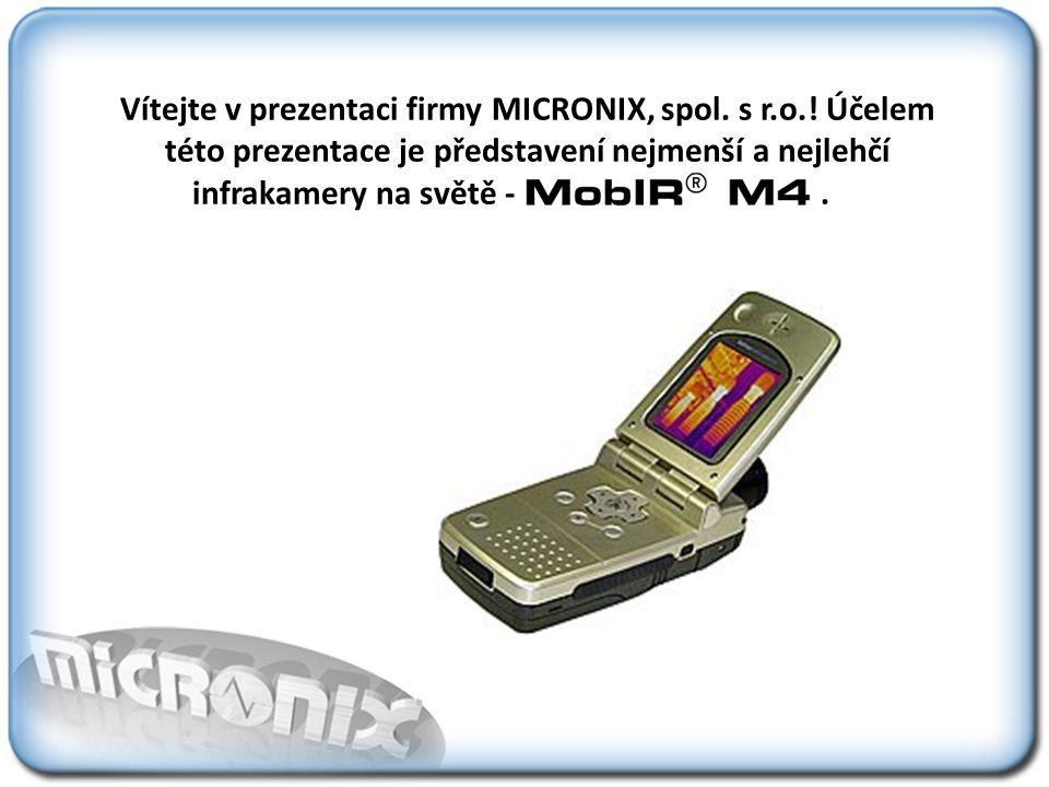 Vítejte v prezentaci firmy MICRONIX, spol. s r. o