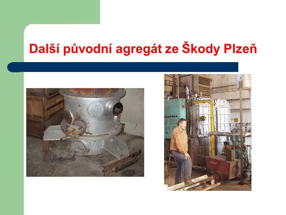 Další původní agregát ze Škody Plzeň