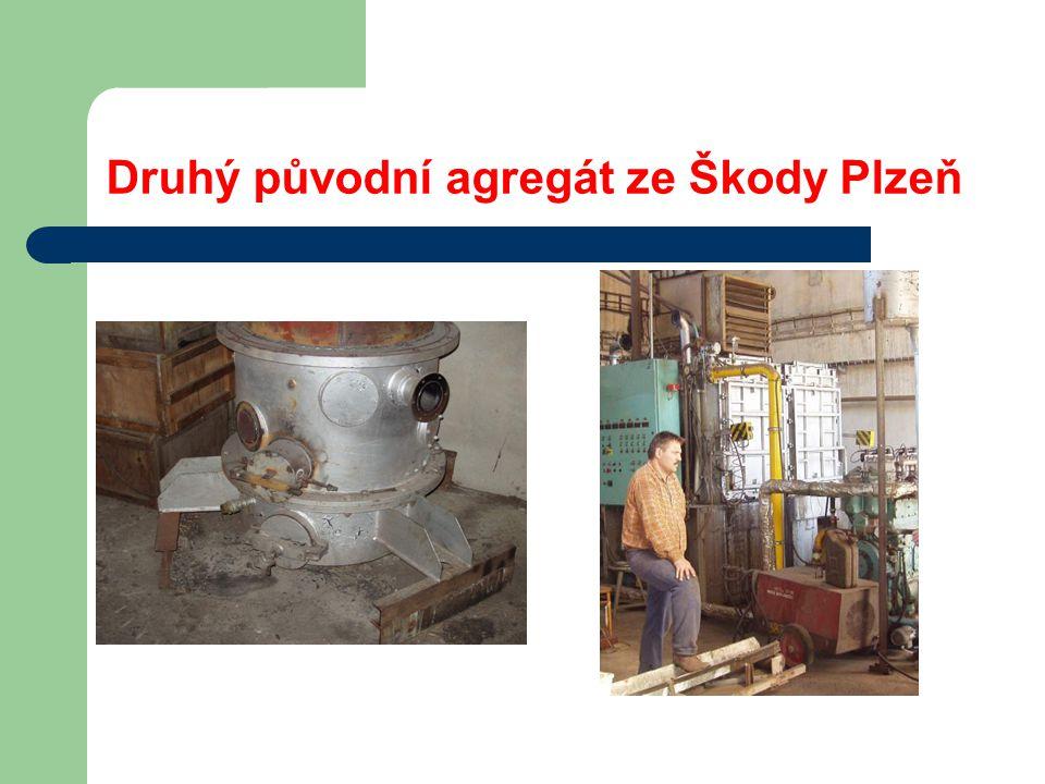 Druhý původní agregát ze Škody Plzeň