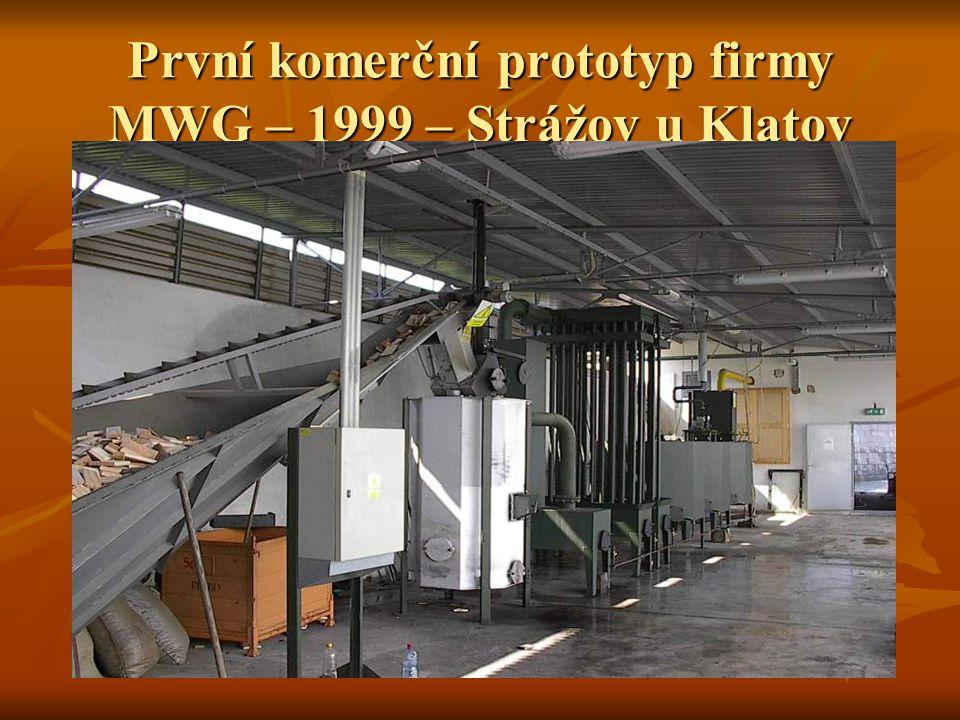 První komerční prototyp firmy MWG – 1999 – Strážov u Klatov