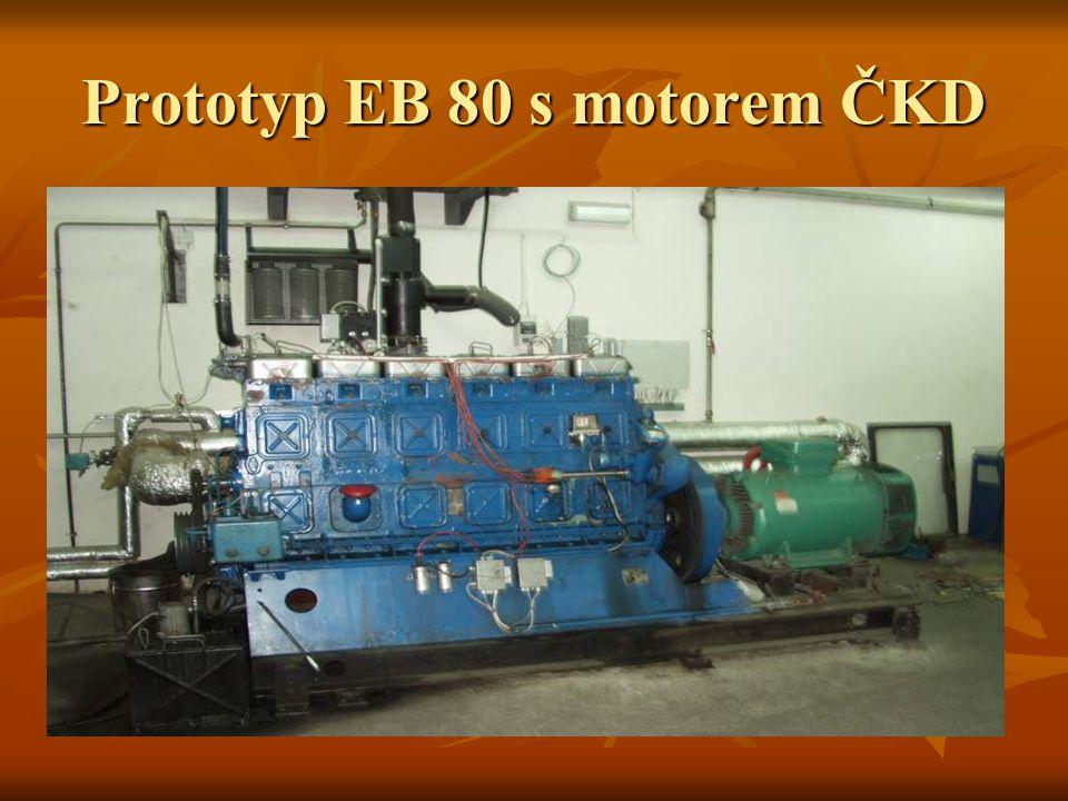 Prototyp EB 80 s motorem ČKD