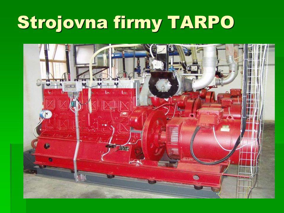 Strojovna firmy TARPO