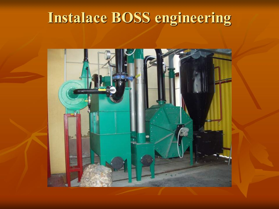 Instalace BOSS engineering