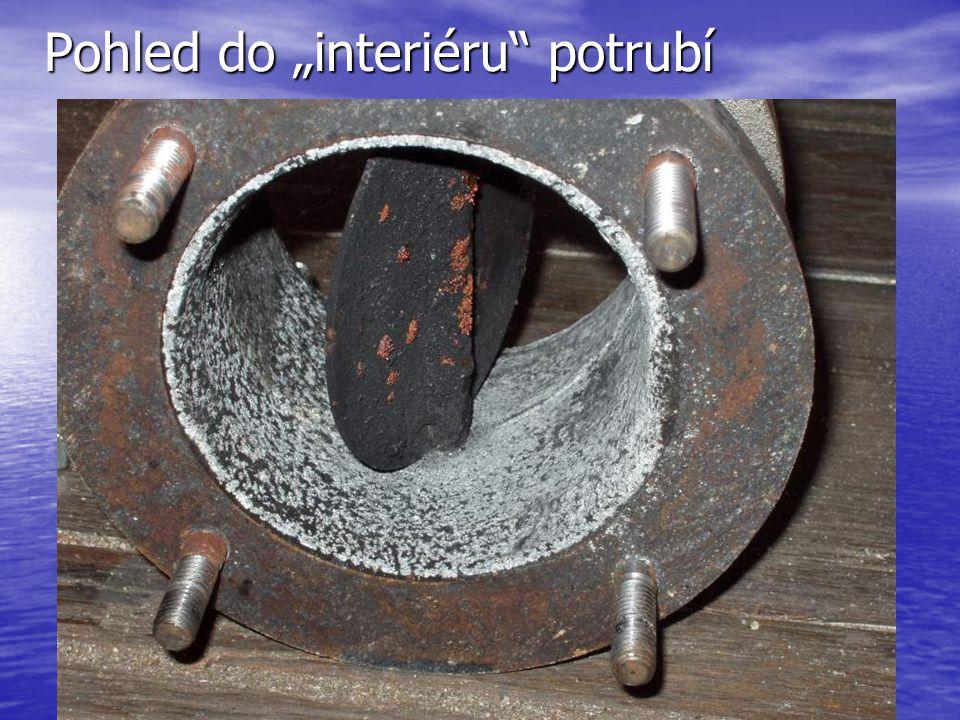 """Pohled do """"interiéru potrubí"""