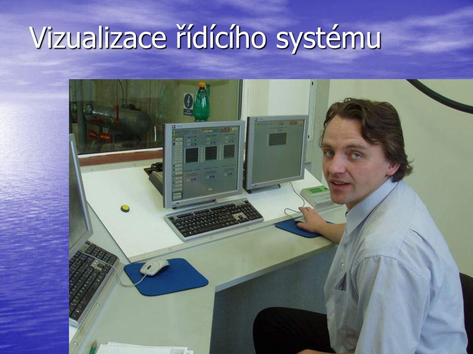 Vizualizace řídícího systému