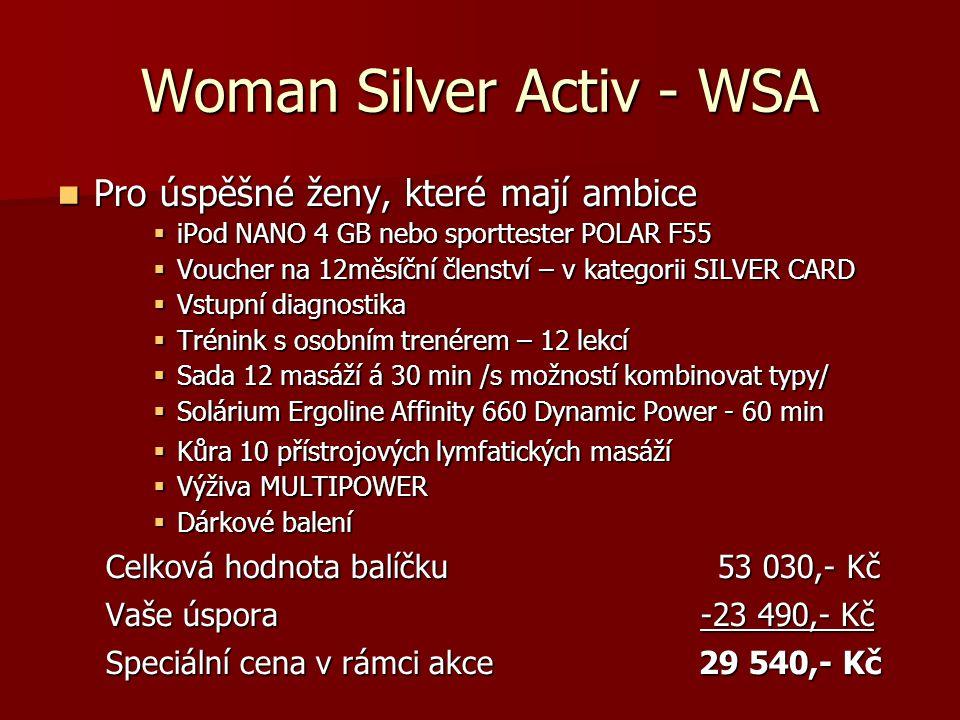 Woman Silver Activ - WSA