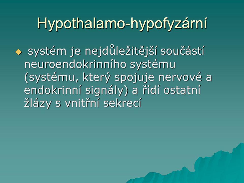 Hypothalamo-hypofyzární