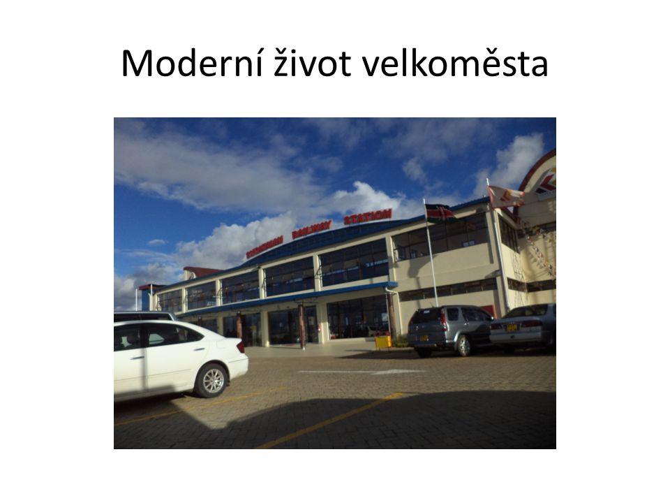 Moderní život velkoměsta