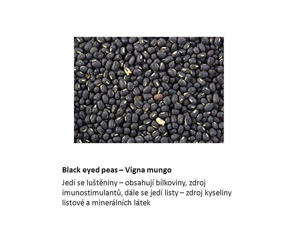 Black eyed peas – Vigna mungo
