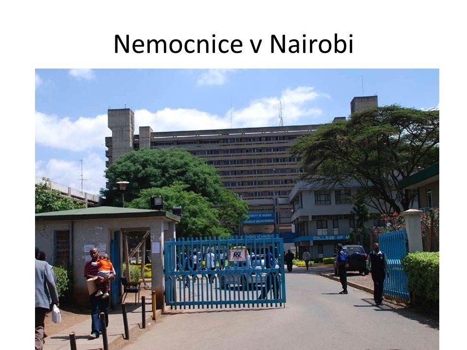 Nemocnice v Nairobi