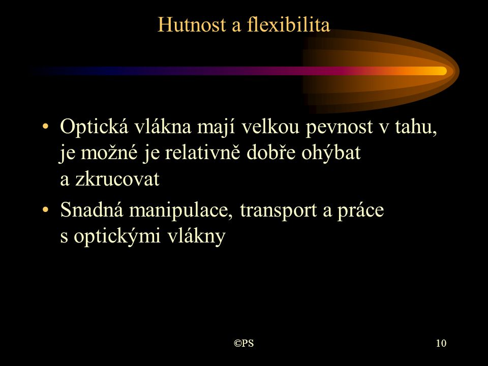 Snadná manipulace, transport a práce s optickými vlákny