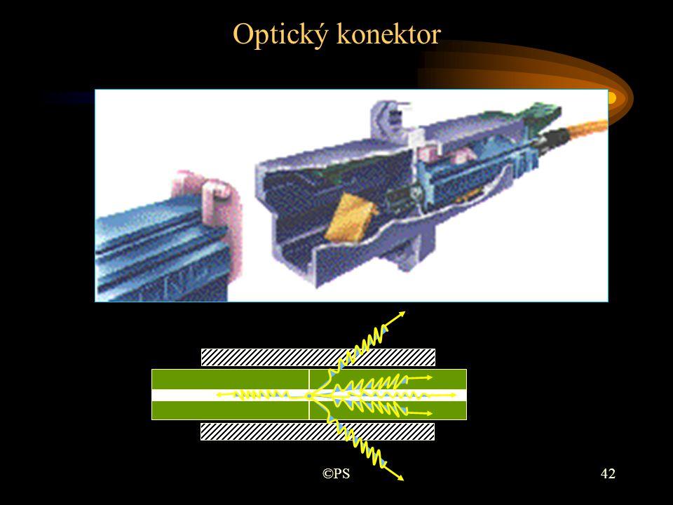 Optický konektor ©PS