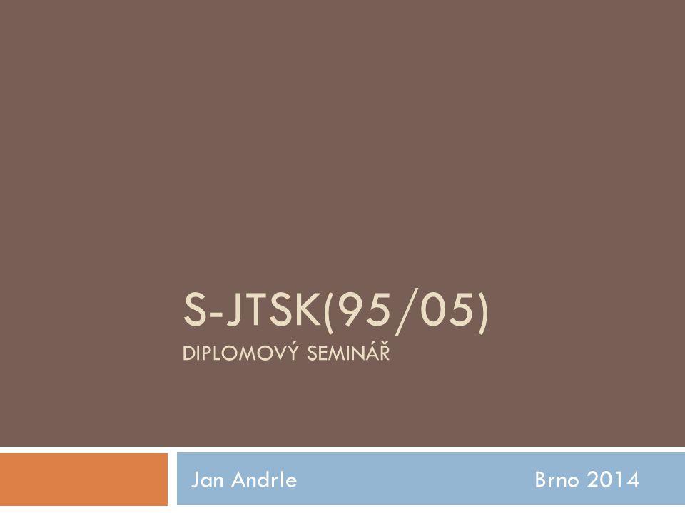 S-JTSK(95/05) diplomový seminář