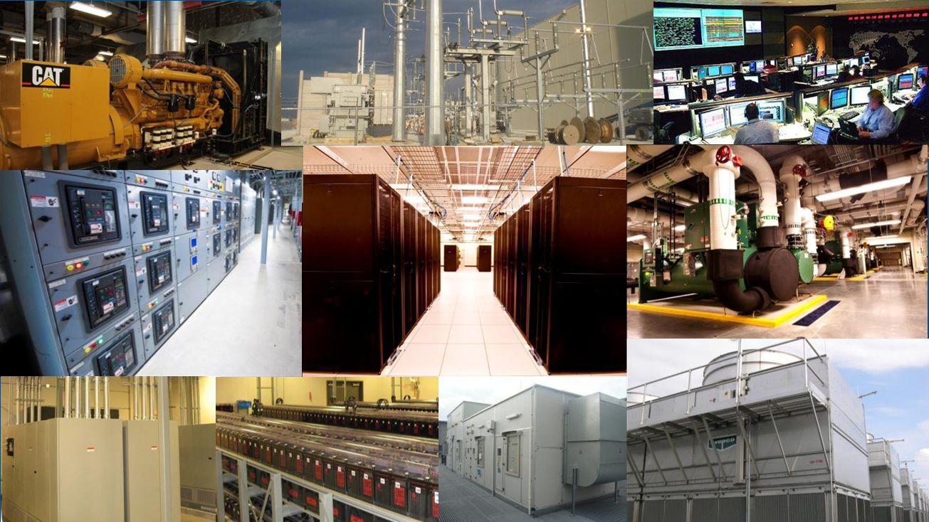 Moderní datová centra 3. až 5. generace