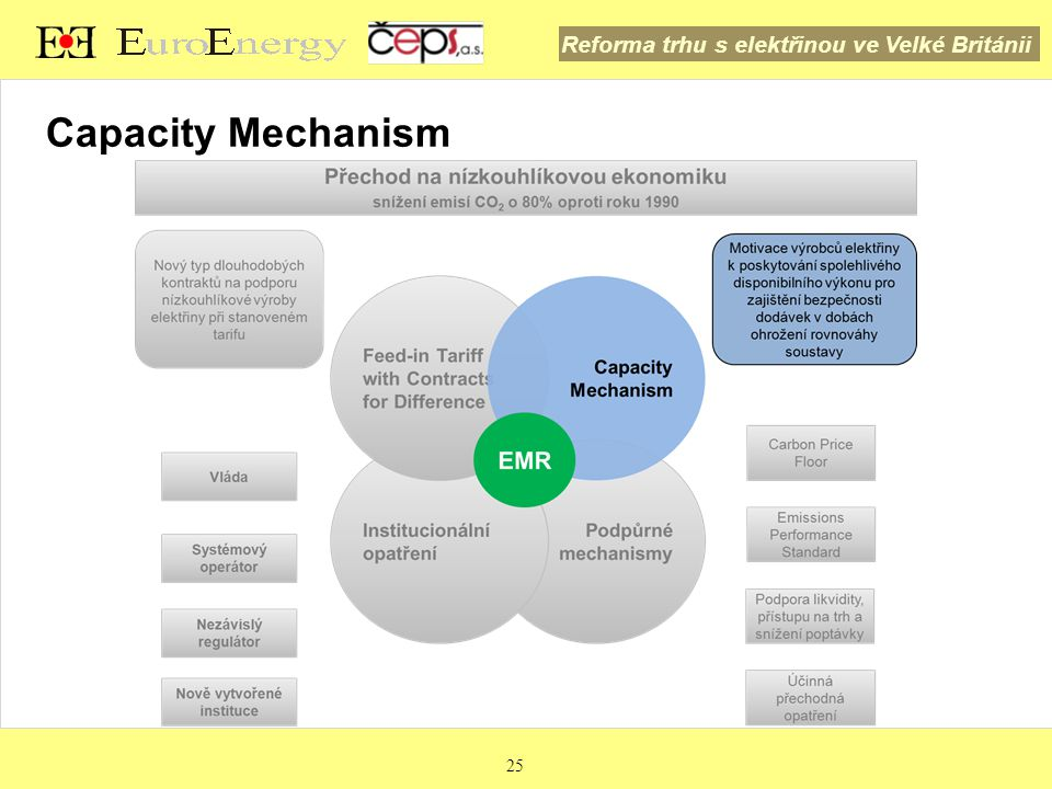 Capacity Mechanism