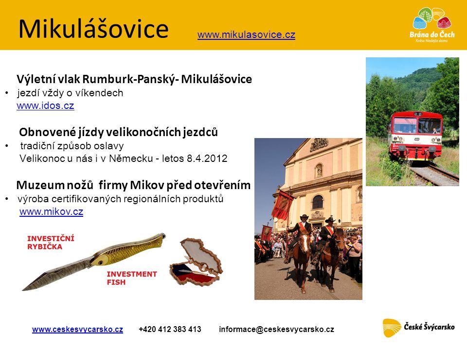 Mikulášovice www.mikulasovice.cz