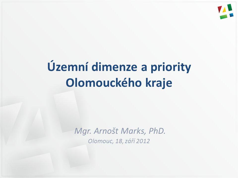 Územní dimenze a priority Olomouckého kraje