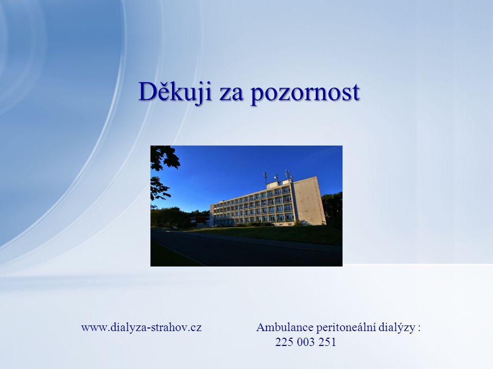 www.dialyza-strahov.cz Ambulance peritoneální dialýzy : 225 003 251