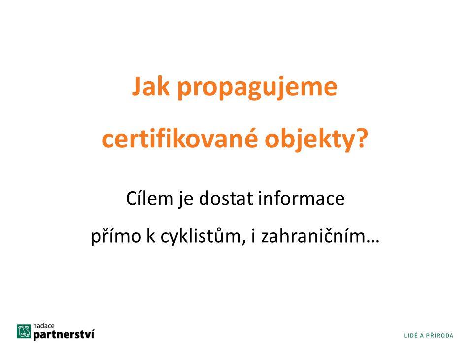 certifikované objekty