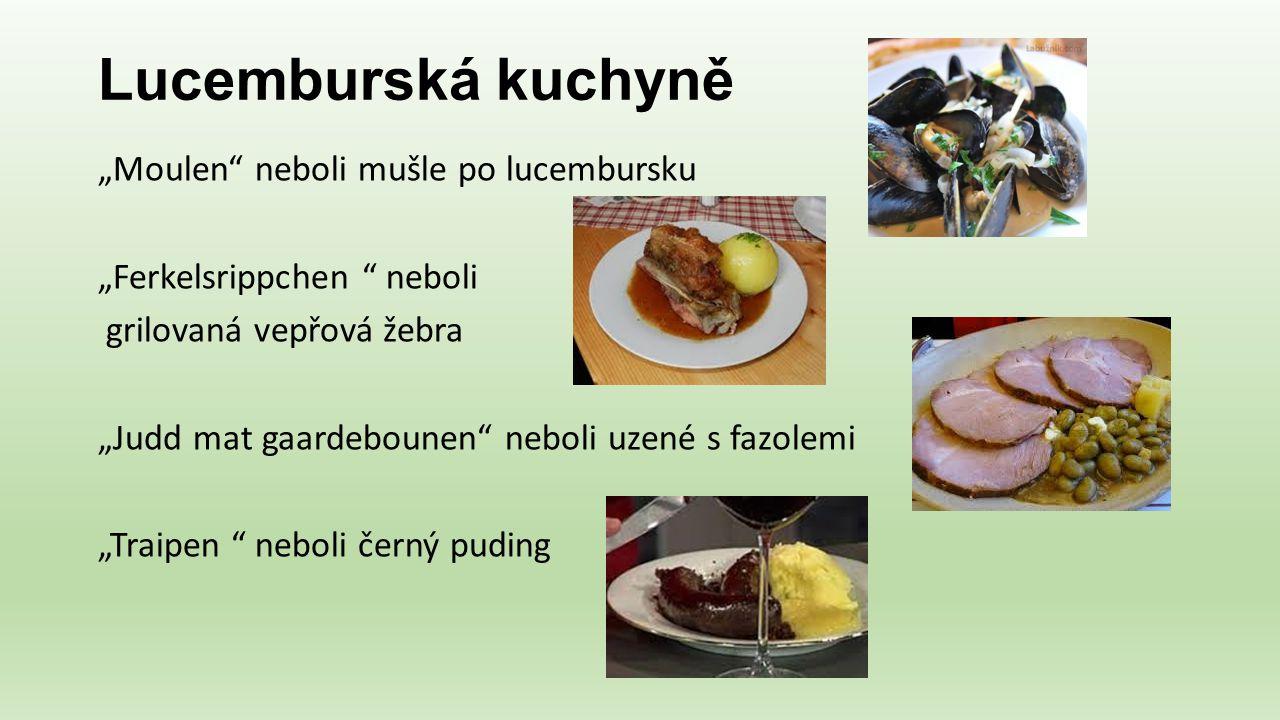 Lucemburská kuchyně