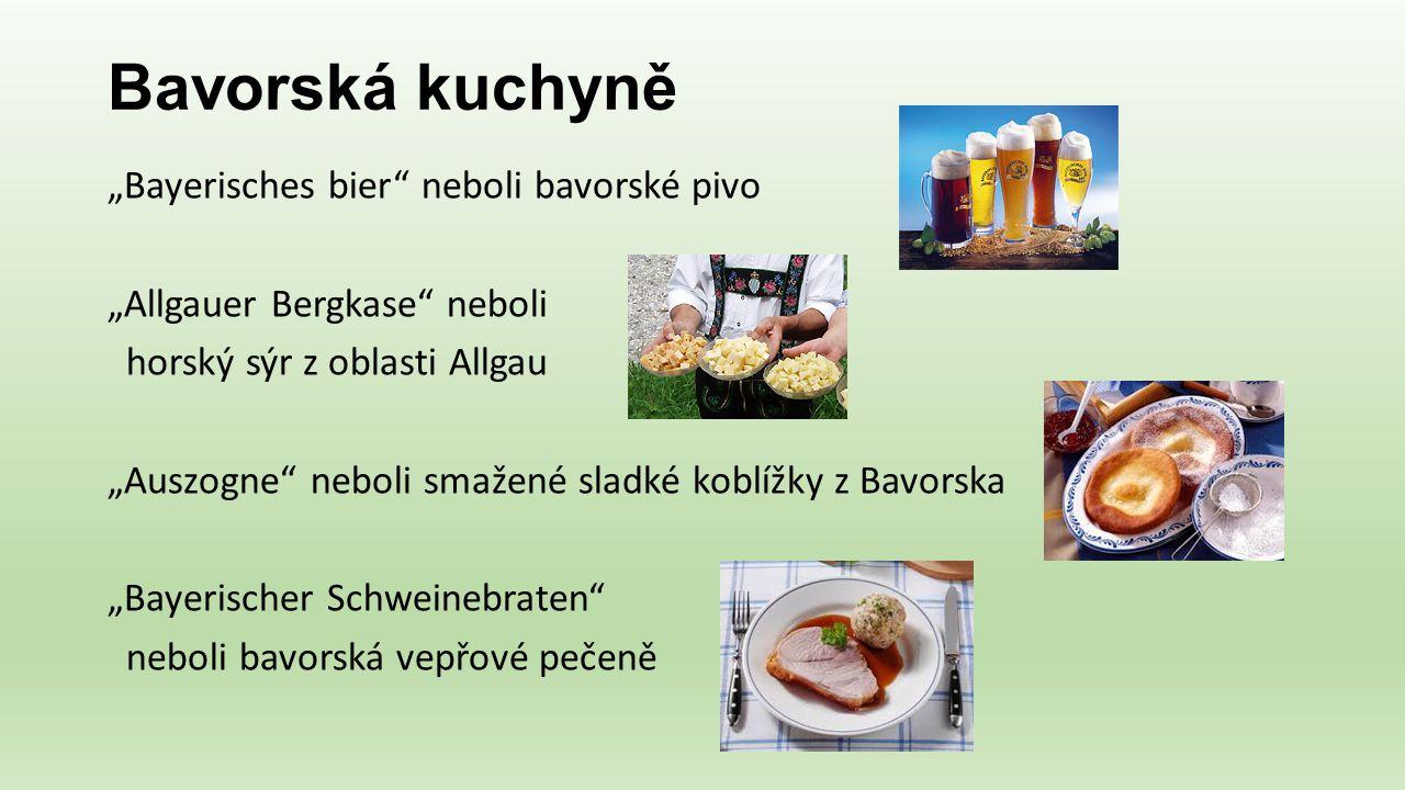 Bavorská kuchyně